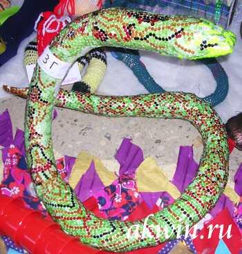 Из чего можно сделать змею