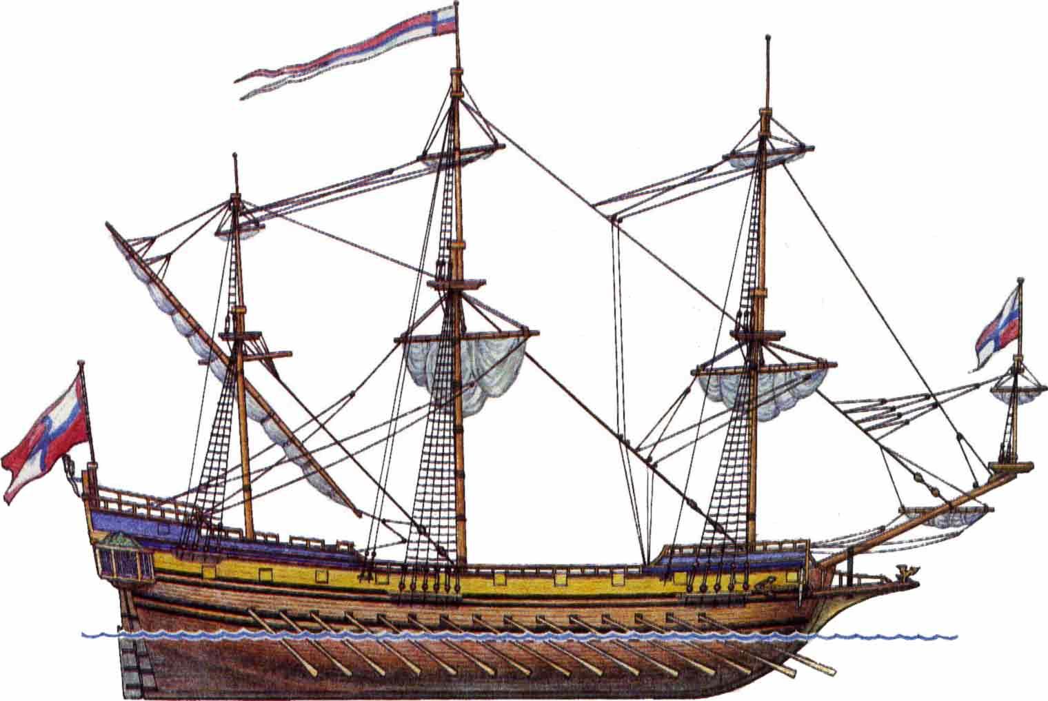 Петр I Великий Создание Российского Флота