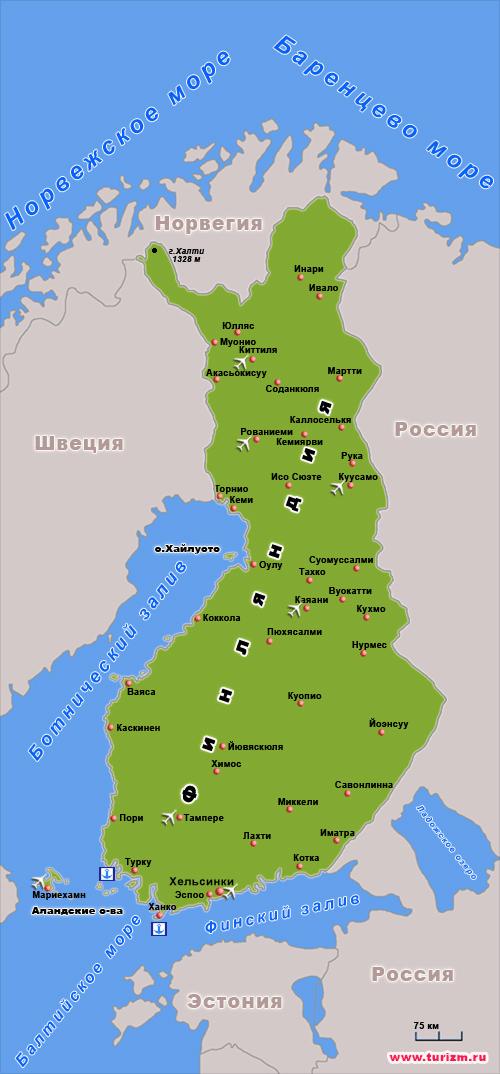 Финляндия сосед России Школьный доклад 4 класс