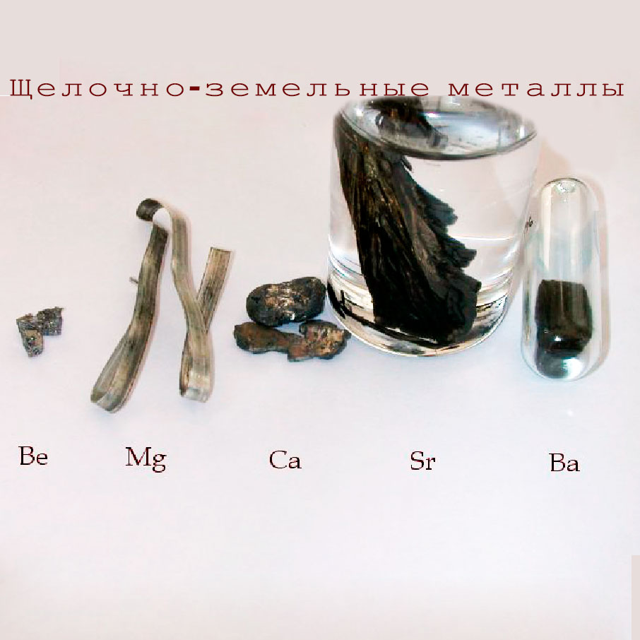 Распространение и использование щёлочноземельных металлов. Доклад по химии. 9 класс