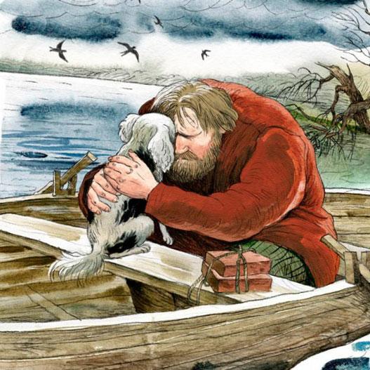 Герасим главный герой рассказа МуМу Ивана Сергеевича Тургенева Сочинение по литературе 5 класс.