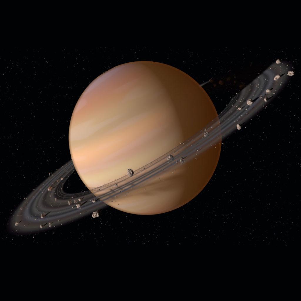 Сатурн Сообщение по теме Планеты Окружающий мир 2 класс.