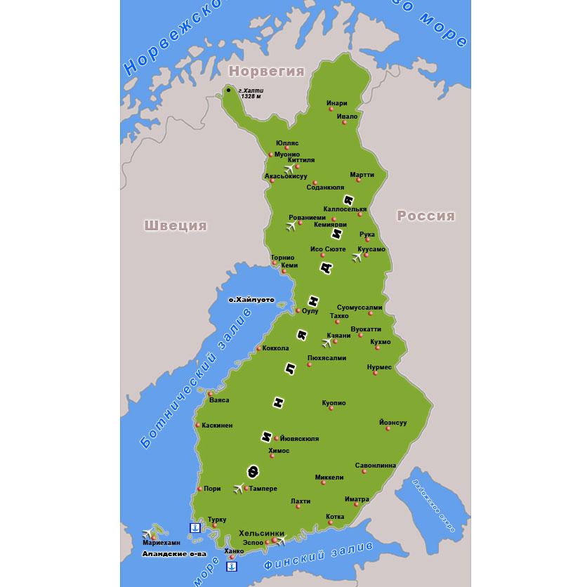 Финляндия сосед России Школьный доклад